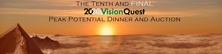 Our 8th Annual Peak Potential Charity Dinner and Auction banner: Morning